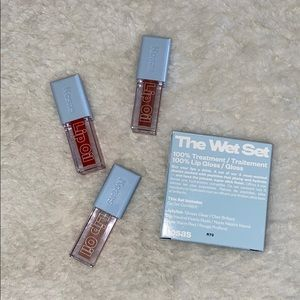 BNIB Kosas Deluxe Wet Lip Oil Gloss Treatment Set